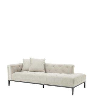 Eichholtz Lounge Sofa 'Cesare' Left Pebble Grey