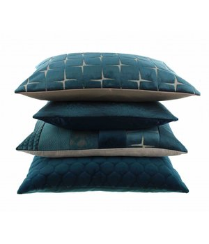 Claudi Throw pillow Adrina Color Petrol