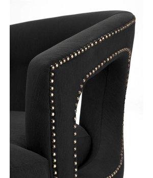 Eichholtz Chair 'Adam' Albin Black