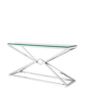 Eichholtz Glass Console table 'Connor' 150 x 40 x H. 74 cm