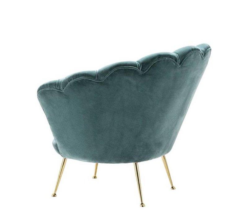 Sessel 'Trapezium' Cameron Deep Turquoise