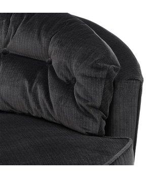 Eichholtz Chair 'Recla' Bolard Black