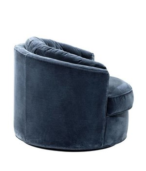 Eichholtz Sessel 'Recla' Cameron Faded Blue