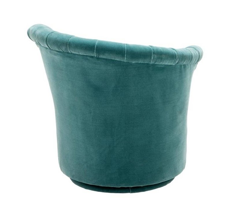 Sessel 'Areo Left' Cameron Deep Turquoise