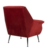 Chair 'Trezzo' Essex Red