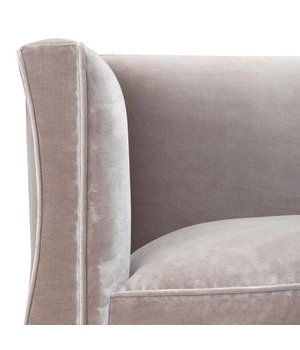 Eichholtz Sessel 'Bouton' Bague Grey Velvet