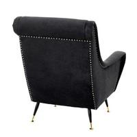 Chair 'Giardino' Black Velvet