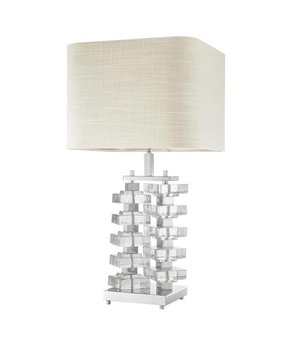 Eichholtz Table lamp 'Toscana' with natural linen shade