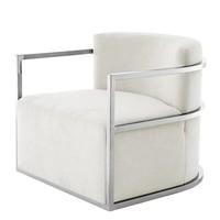 Chair 'Emilio' Ecru Velvet