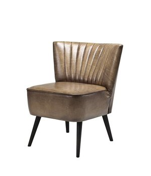 Eichholtz Chair 'Allstar' Olive Light Lether