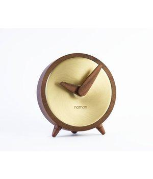 Nomon Tischuhr Atomo Sobremesa in Gold