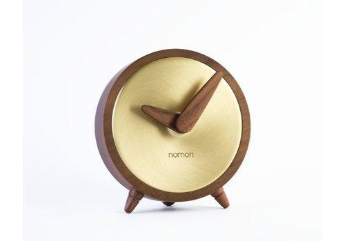 Nomon Tischuhr Atomo Sobremsea Gold