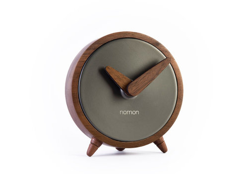 Nomon table clock 'Atomo Sobremesa' Graphite