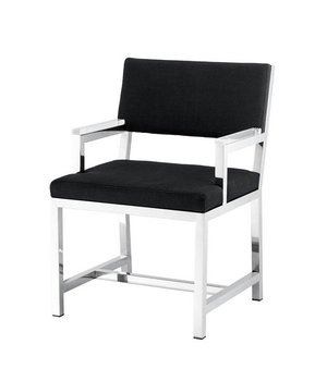 Eichholtz Chair 'George' Panama Black