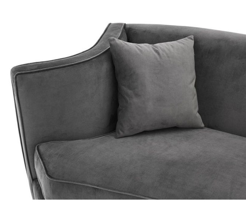 Sofa 'Giulietta' Granite Grey