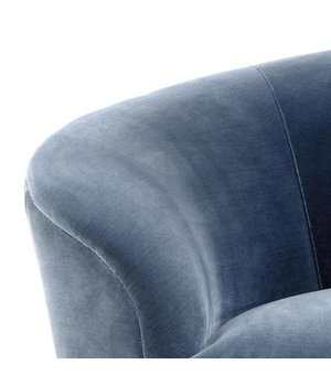 Eichholtz Sofa 'Khan' Cameron Faded Blue