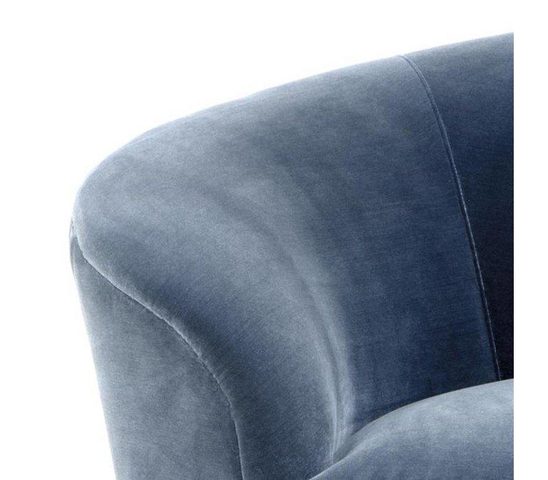 Sofa 'Khan' Cameron faded blue