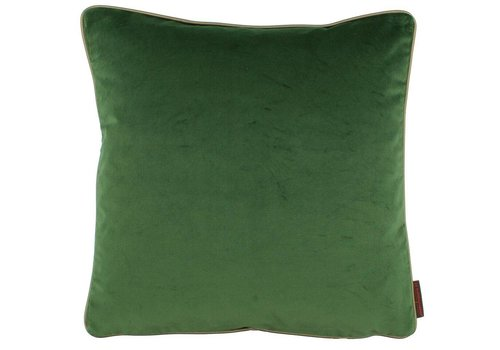 CLAUDI Design Cushion Saffi Dark Green