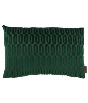 De Kussenfabriek Cushion Thelma color Dark Green