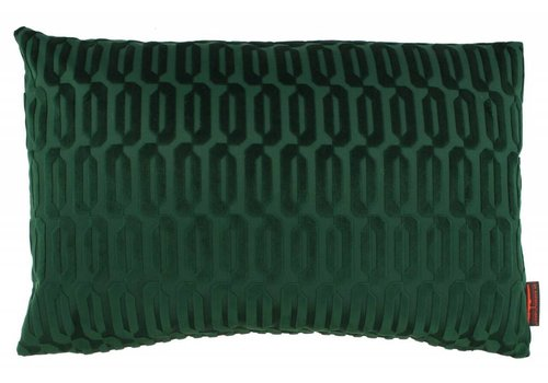 CLAUDI Design Cushion Thelma Dark Green