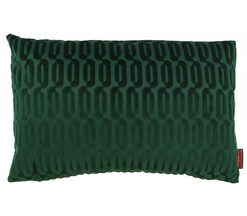Cushion Thelma color Dark Green