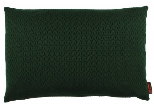 CLAUDI Design Cushion Stefan Dark Green