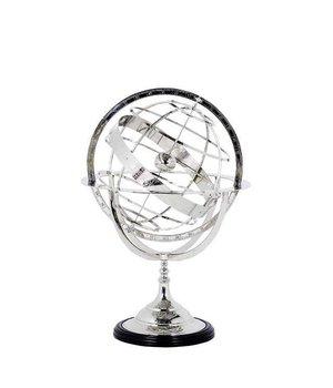 Eichholtz Decoratie 'Globe' maat S is 29cm hoog.