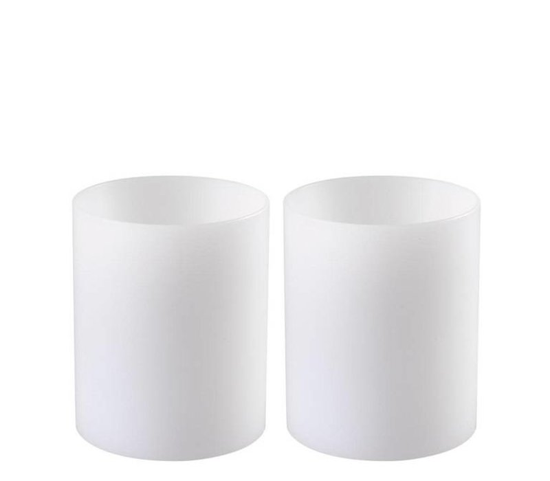Candle Holder 'Artificial Candle deep set of 2 Small'
