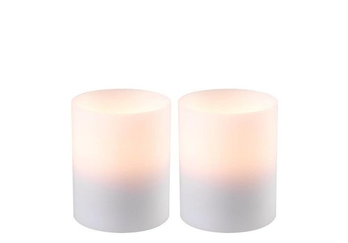 Eichholtz Candle Holder 'Artificial Candle deep set of 2 Small'