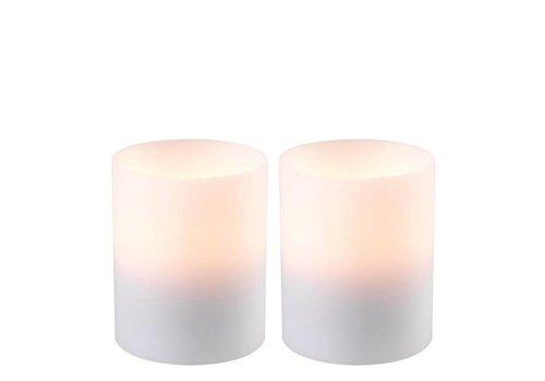 Eichholtz Kaarsen set  'Artificial Candle deep set of 2 Small'