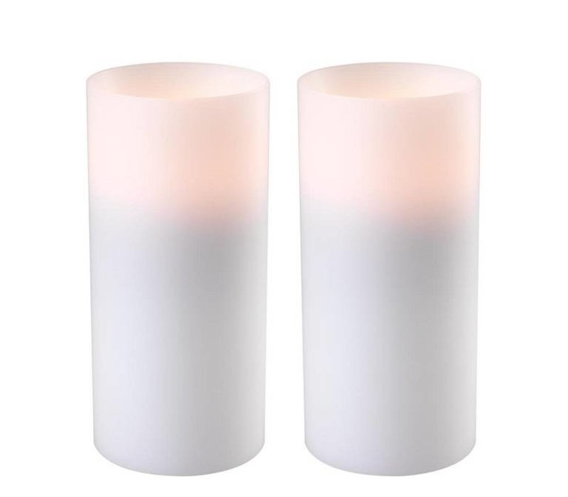 Kerzenständer 'Artificial Candle deep set of 2 Large'