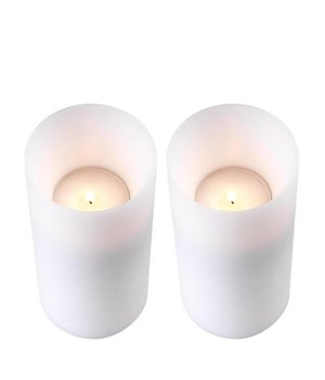 Eichholtz Kaarsenset  'Artificial Candle deep set of 2 Large'