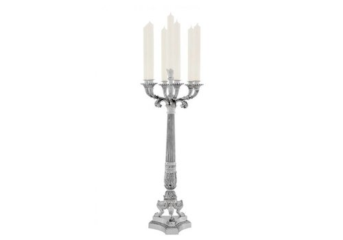 Eichholtz Candle Holder 'Jefferson Silver'