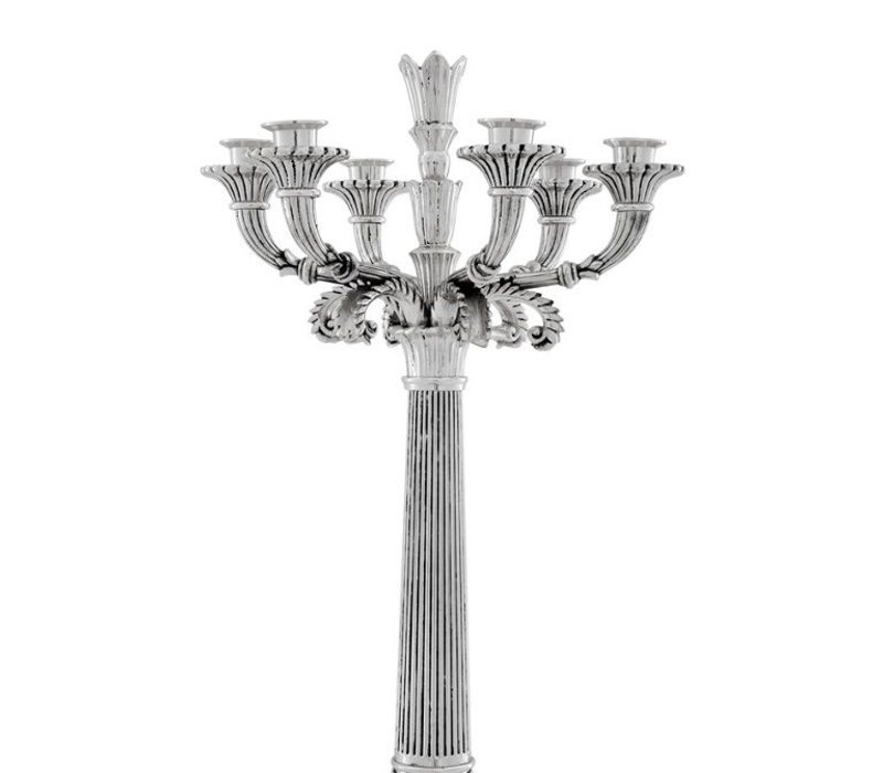 Candle Holder 'Jefferson Silver'