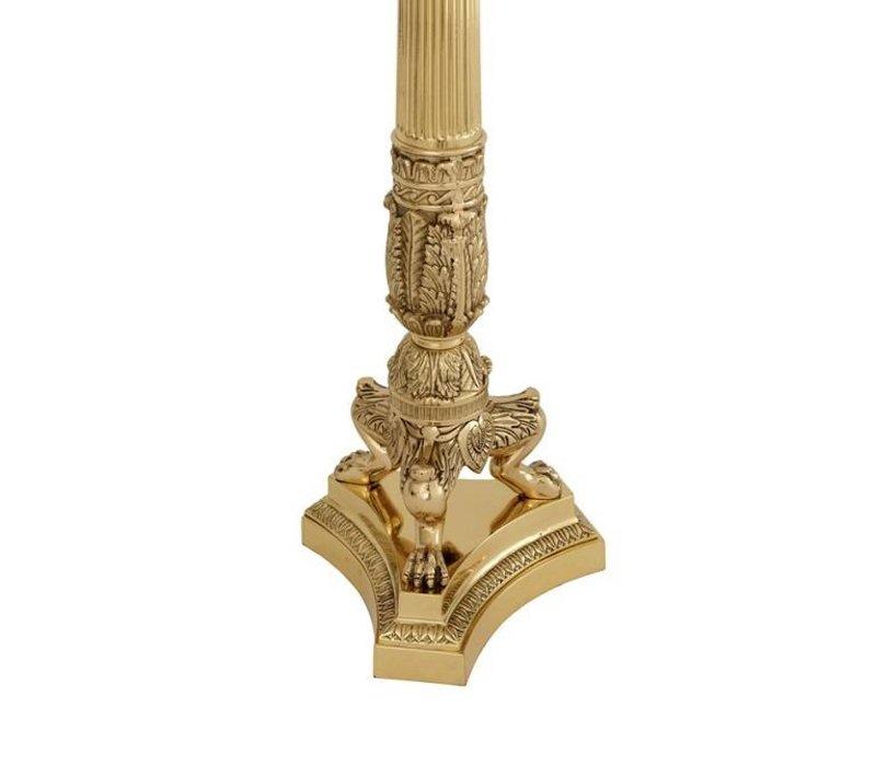 Kerzenständer 'Jefferson Polished Brass'