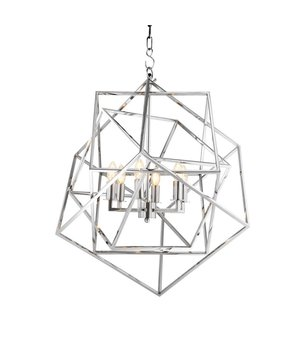 Eichholtz Hängelampe Lantern Matrix, 70,5 x 70,5 x H. 78 cm