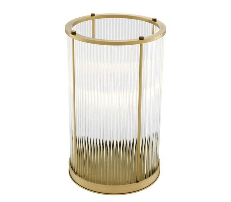 Windlicht 'Mayson L Antique Brass'