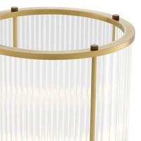 Windlicht 'Mayson S Antique Brass'