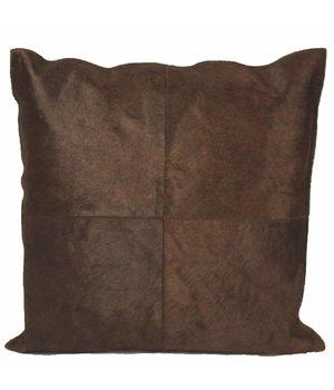Dome Deco Cushion Cowhair Brown