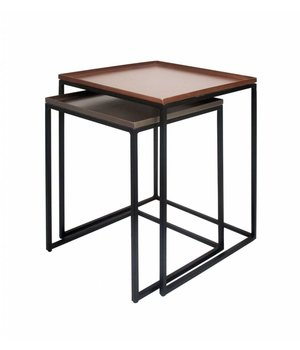 Dome Deco End tables set of 2