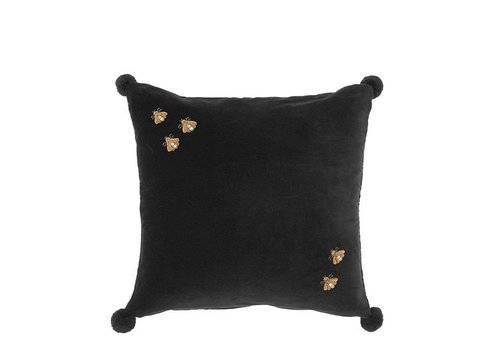 Eichholtz Pillow 'Salgado' Black Velvet