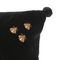 Pillow 'Salgado' Black Velvet