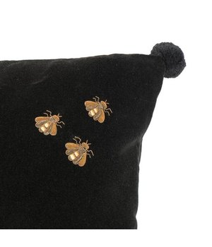 Eichholtz Pillow 'Salgado' Black Velvet
