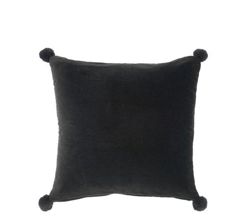Kissen 'Salgado' Black Velvet