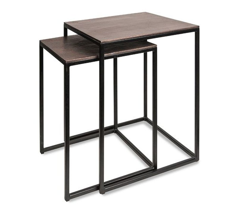 Nesting tables set of 2
