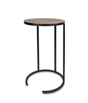 Dome Deco Round End table Bronze