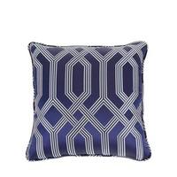 Pillow  'Fontaine' Blue 50 cm