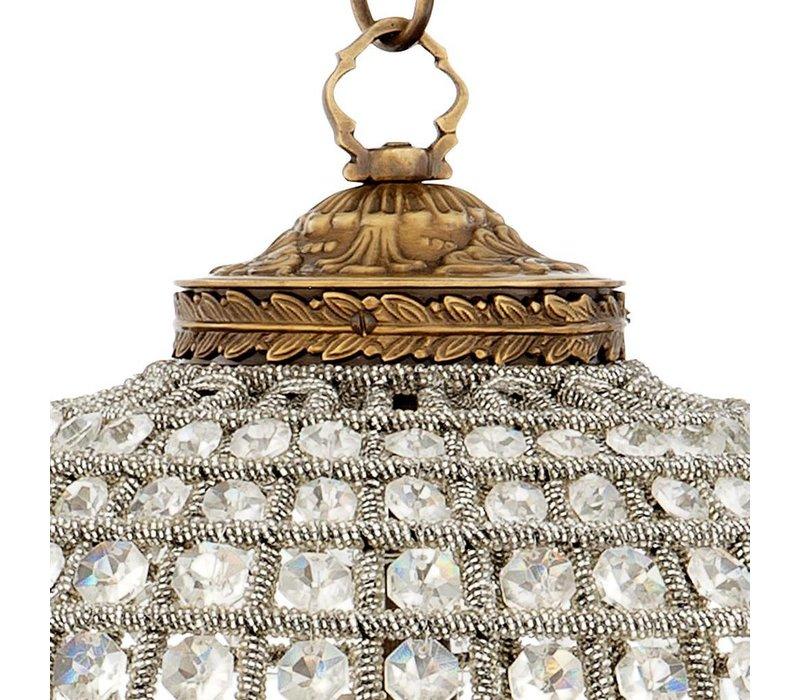Hängelampe Kasbah Oval S der niederländischen Marke Eichholtz, Maße: 38 x 45 cm