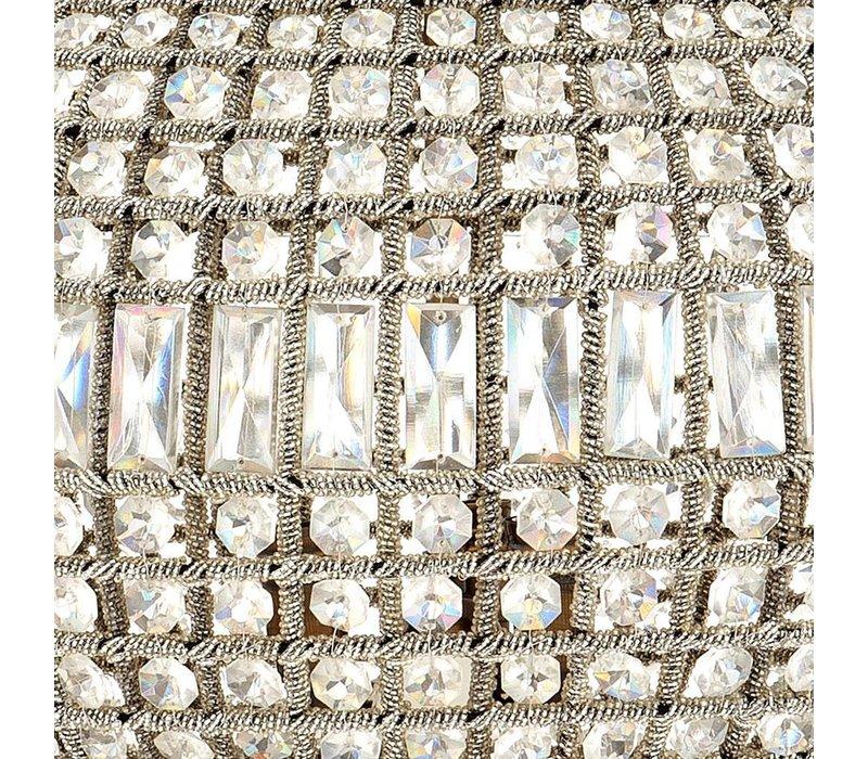 Hängelampe Kasbah Oval M der niederländischen Marke Eichholtz, Maße: 52 x 52 cm