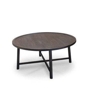 Dome Deco Coffeetable 'Bow' Ebony wood